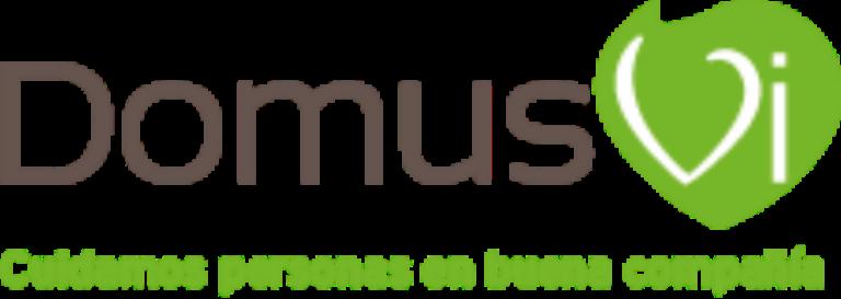 Logo DomusVi+ claim_web