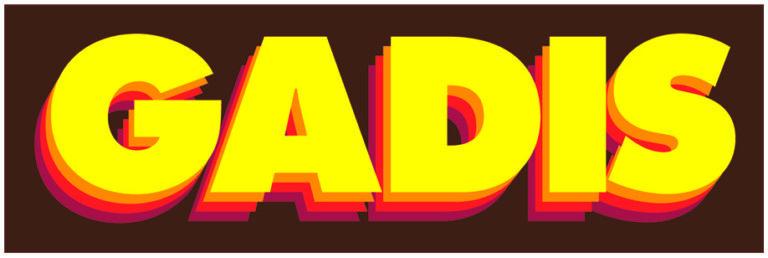 Logo GADIS sin eje Adobe photoshop